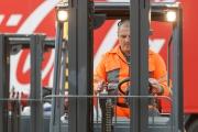 В Coca-Cola HBC Россия прошли соревнования операторов на погрузчиках