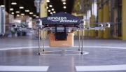Amazon предложила сбрасывать посылки с дронов на парашютах