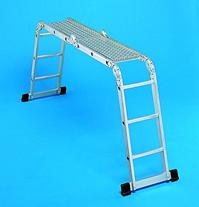 ZARGES Z300  арт.42383 многоцелевые лестницы, 4,45 м.