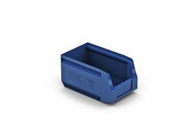Пластиковый складской лоток арт. 12.402, размеры  250х150х130