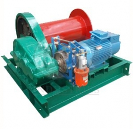 Лебедка электрическая (JM) г/п 1,0 тн Н=120 м (б/каната)