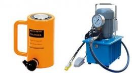 Насос электрический для домкрата  HHB-630B 220v(двусторонний домкрат 20-200 т)