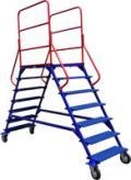 Лестница передвижная ЛР 6.2 (6 ступеней 2 марша)