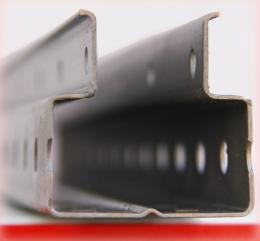 Рама паллетного стеллажа 6500/1000/110 У, нагрузка до 15000 кг