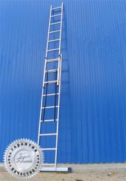 Лестница двухсекционная универсальная многоцелевая H2 5207 (Алюмет – Россия)
