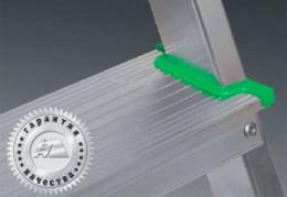 Стремянка алюминиевая односторонняя многоцелевая AM710 (Алюмет –Россия)