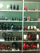 Стеллаж архивный полочный 2000х400х1000 нагр. 100 кг на полку, 4 полки полимер RAL 7035