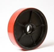 Колесо полиуретановое 180мм с подшипником