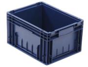 Пластиковый ящик RL-KLT 6147 (голубой)